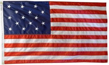 Star Spangled Banner Flag - Nylon (Sewn)