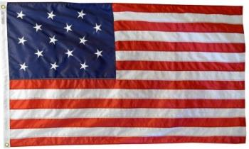 Star Spangled Banner Flag - Cotton (Sewn)