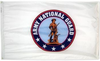 Army National Guard Flag - Nylon - 3x5'