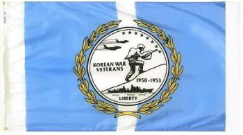 Korean War Veterans Flag - Nylon - 3x5'