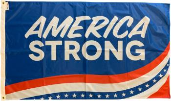America Strong Flag - 4x6'